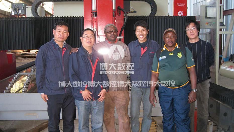 南非工程机械行业客户案例2
