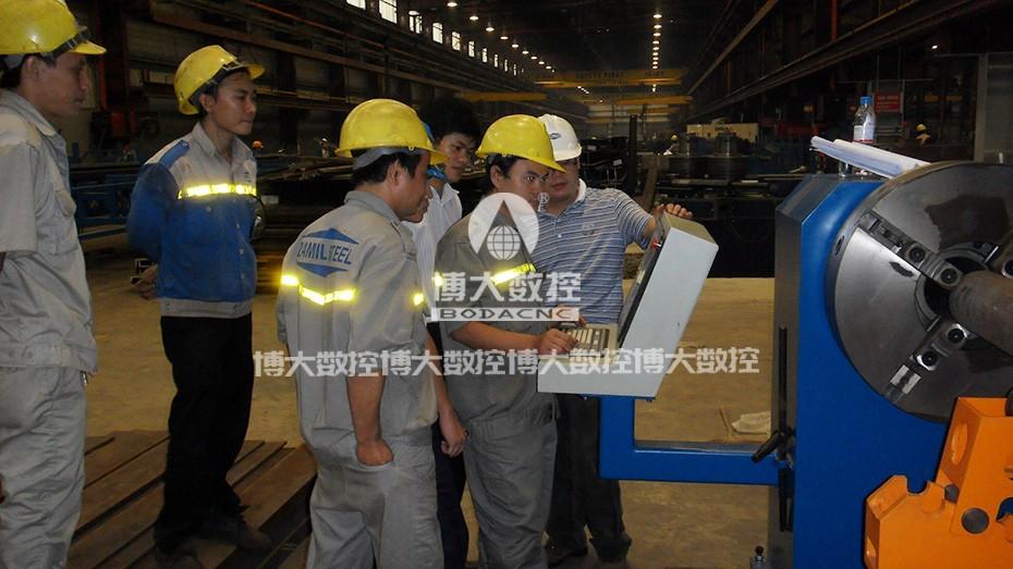 越南钢结构客户案例1