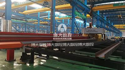 钢结构行业客户现场
