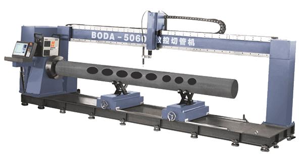 龙门式数控相贯线切管机产品图