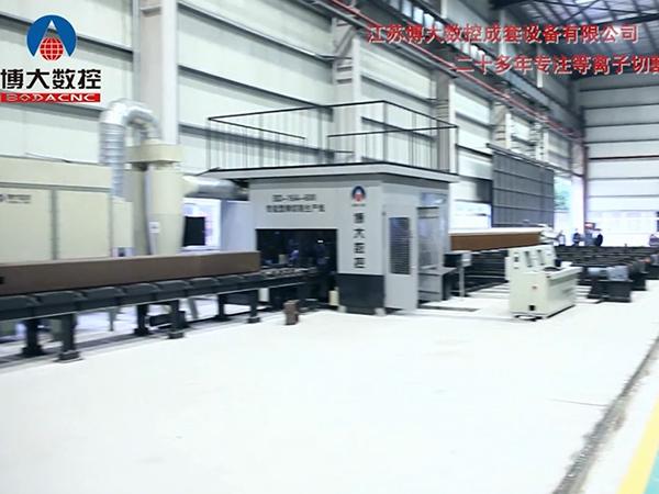 智能型钢机器人切割生产线