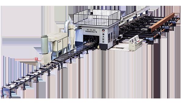 智能化机器人型钢切割生产线