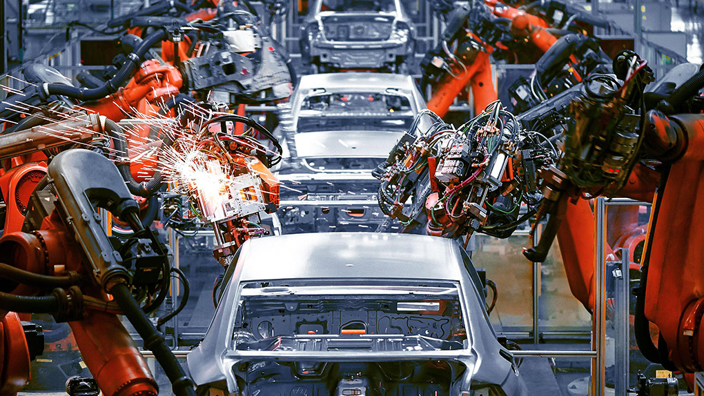 扬州汽车配件公司合作自动数控切割机案例